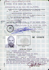 Joseph Tyson - Mexico FM-3 - Information page - 07 March 2002