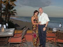 Joseph with Perla Yesenia Palomino at Pitahayas, Cabo - August 13, 2011